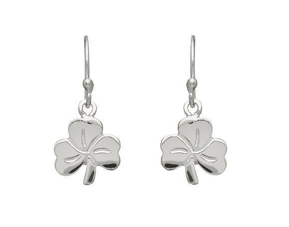 Shamrock Small Drop Earrings