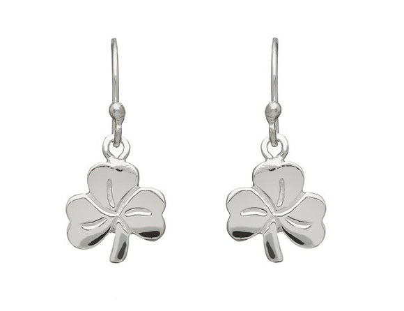 Shamrock Medium Drop Earrings