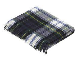 Dress Gordon Tartan Pure New Wool Throw
