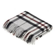 Grey Thompson Tartan Pure New Wool Throw