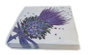 Scott Inness Big Thistle Napkins 20pk