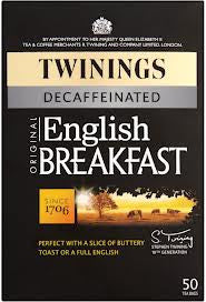 Twinings English Breakfast Decaf Tea Bags