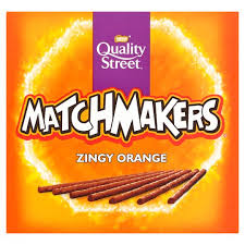 Nestle Quality Street Matchmakers Zingy Orange