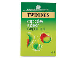 Twinings Green Tea with Apple & Pear Tea Bags