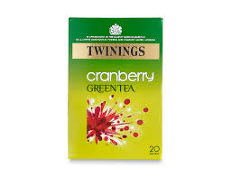 Twinings Green Tea with Cranberry Tea Bags