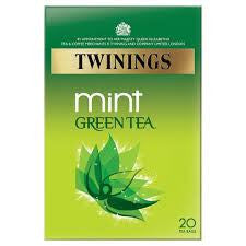 Twinings Green Tea with Mint Tea Bags