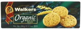 Walkers Organic Wheat & Oat Biscuits