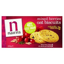 Nairn's Oat Biscuits Mixed Berries