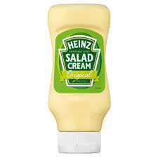 Heinz Salad Cream Top Down