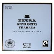 Marks & Spencer Extra Strong Tea 80s