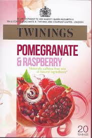 Twinings Pomegranate & Raspberry Tea Bags