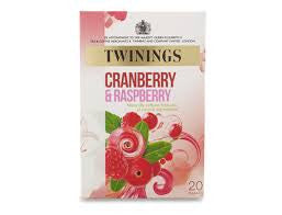 Twinings Cranberry & Raspberry Tea Bags
