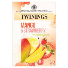 Twinings Strawberry & Mango Tea Bags