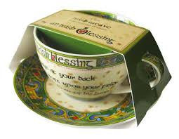 Irish Blessing Cup & Saucer