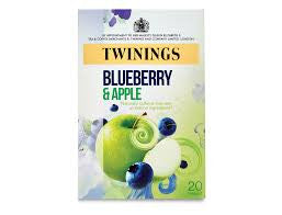 Twinings Blueberry & Apple Tea Bags