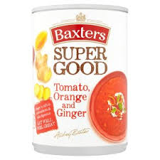 Baxter's Super Good Tomato, Orange and Ginger Soup