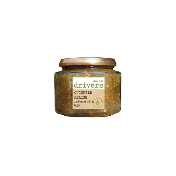 Drivers Cucumber Relish With Gin 350g