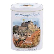 Edinburgh Castle Vanilla Fudge Oval Tin