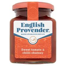 English Provender Sweet Tomato and Chilli Chutney 325g