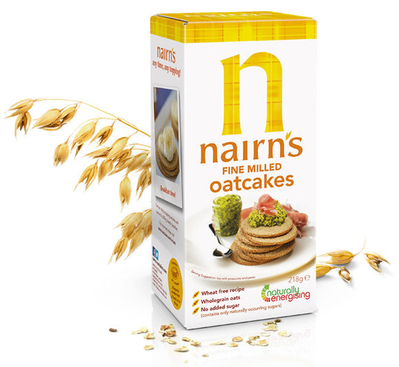 Nairn's Oatcakes Fine Milled