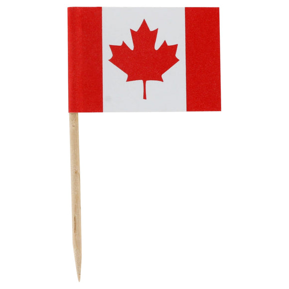 Canada Flag Picks (100pcs)