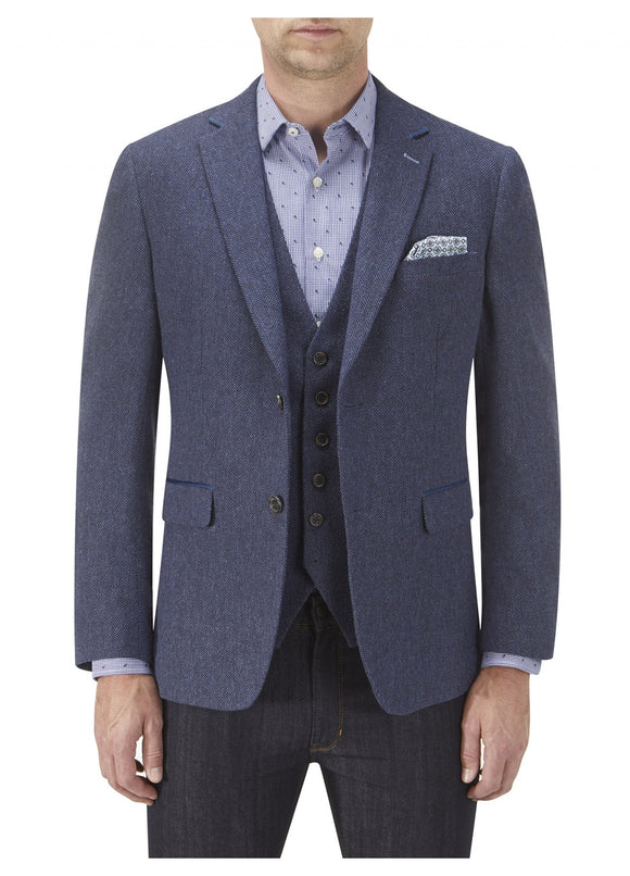 Kinloch Blue Tweed Jacket