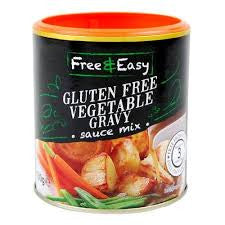 Free & Easy Gluten Free Vegetable Gravy