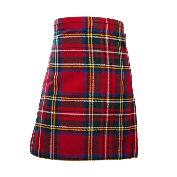 Boys Royal Stewart Deluxe Kilt