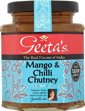 Geeta's Mango & Chilli Hot Chutney
