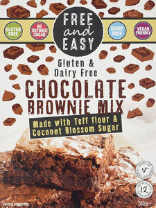 Free & Easy Gluten Free Brownie Mix