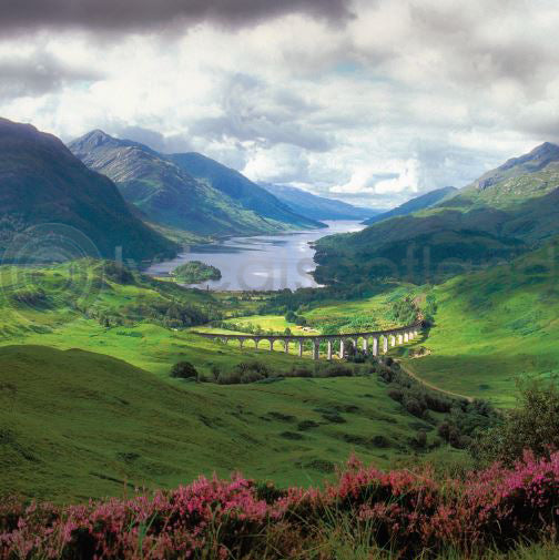 Glenfinnan Colour Photo Greeting Card
