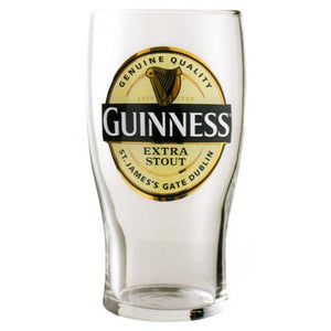 Guinness Gold Label Pint Glass
