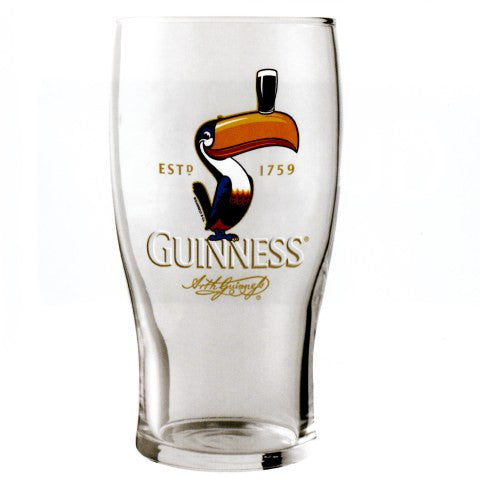 Guinness Toucan Pint Glass