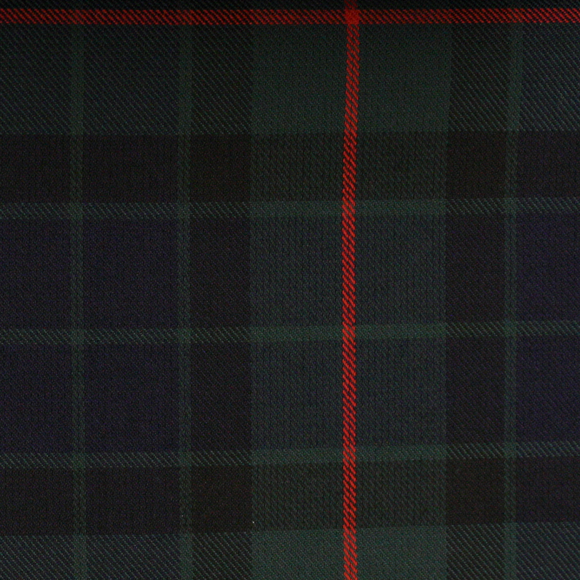 Gunn Tartan Poly Viscose Cloth