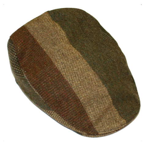 Donegal Touring Cap Striped Patch Brown
