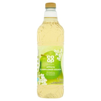 Co Op High Juice Apple & Elderflower Squash