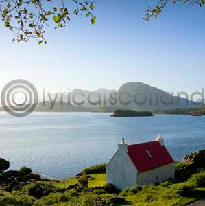 Highland Cottage Colour Photo Greeting Card