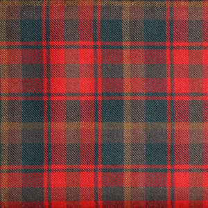 Muted Maple Leaf Tartan 13oz Wool Fabric