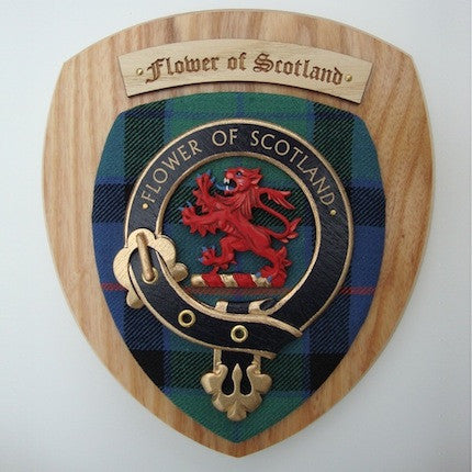 Scottish Clan Shield Plaque