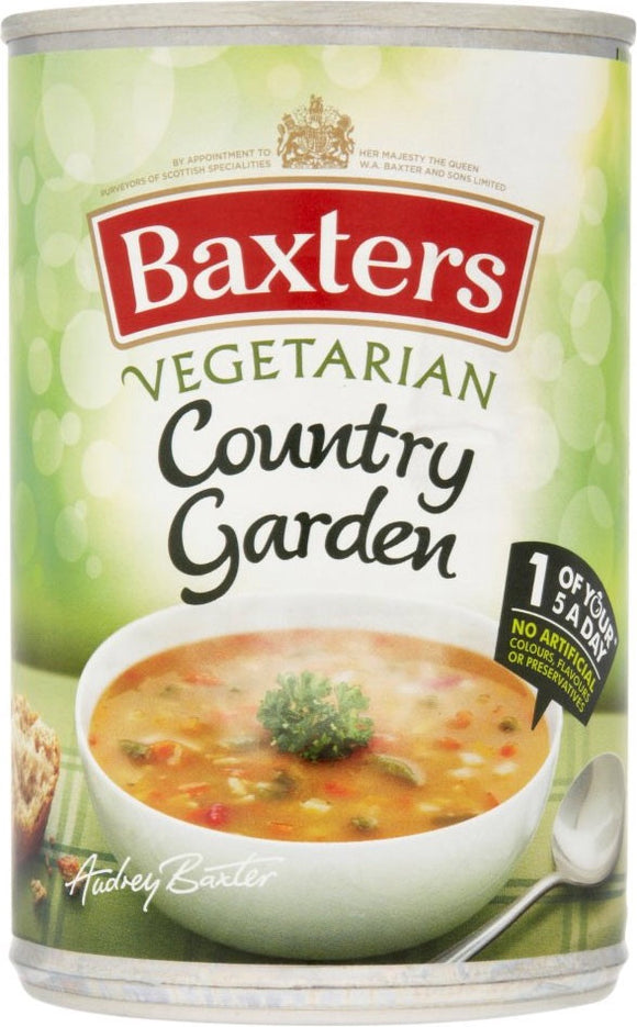 Baxter's Vegetarian Country Garden Soup
