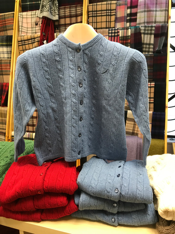 Child's Button Cardigan