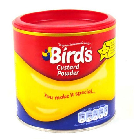 Bird's Custard Powder Tin