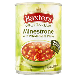 Baxter's Vegetarian Minestrone and Pasta Soup