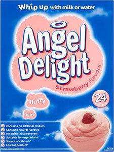 Bird's Angel Delight Strawberry