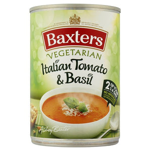 Baxter's Vegetarian Italian Tomato and Basil Soup