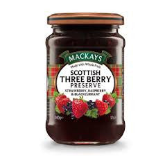 MacKay's Scottish Three Berry Preserve