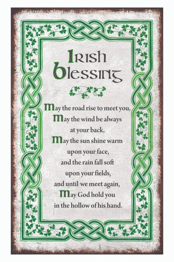 Irish Blessing Tea Towel