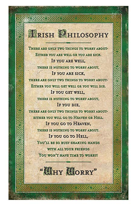 Irish Philosophy Tea Towel