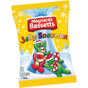 Maynards Bassetts Jelly Babies Snowmen