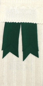 Bottle Green Wool Flashes